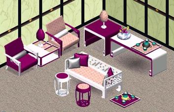 Sims 1 asian chic set by Expression